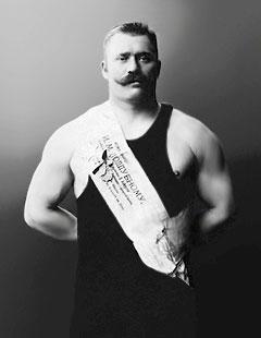 Иван Поддубный - богатырь и силач
