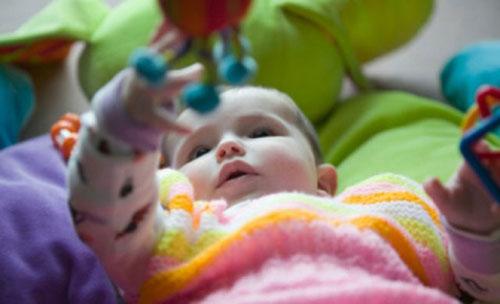 игрушки ребенку до года
