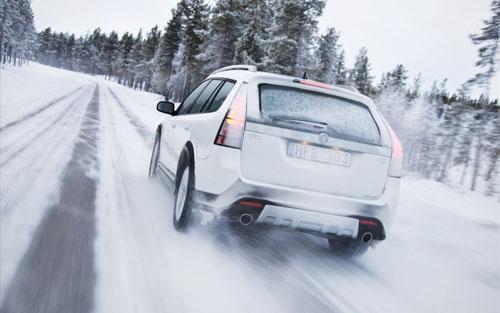 Правильное управление автомобилем зимой