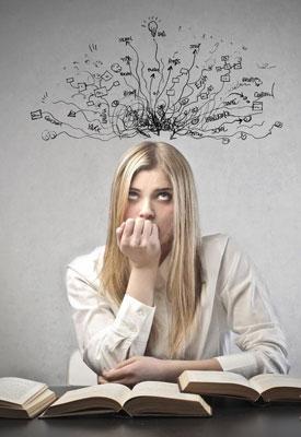Причины, уменьшающие продуктивность работы мозга