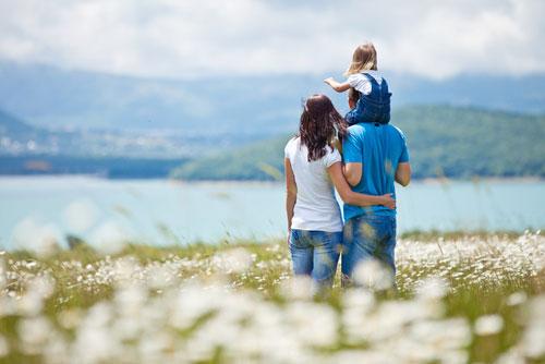 Счастье в семейных отношениях