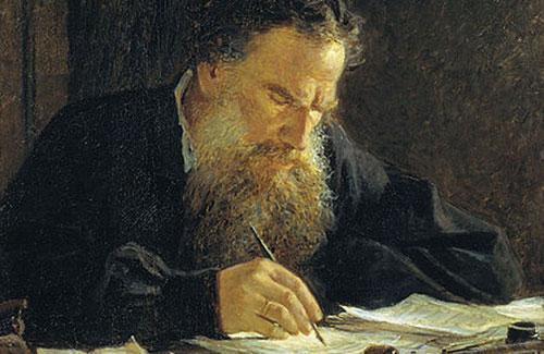Учитесь у Льва Толстого