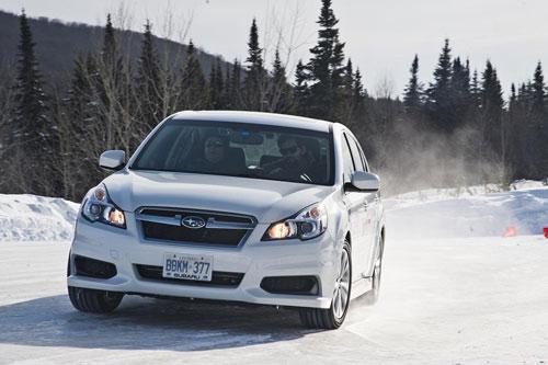Управление автомобилем в зимний период