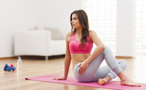 избавиться от лишнего веса с помощью тренировок на дому