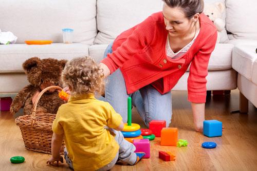 Как правильно играть с ребенком