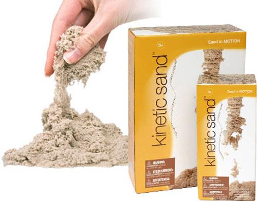 Кинетический песок – гениальное творение родом из Швеции