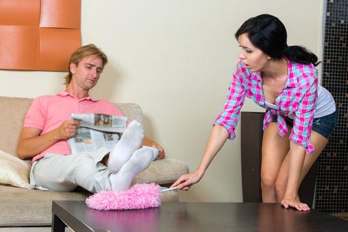 Ленивый муж - как с ним бороться