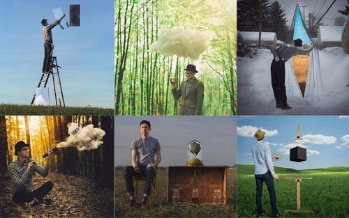Мир реальный и воображаемый на фотографиях Логана Зилмера (15 фото)