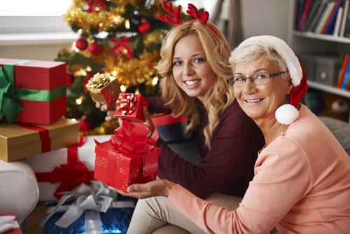 Новогодний подарок для бабушки
