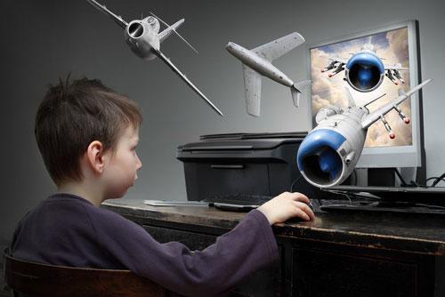 отвлечь ребенка от экрана монитора
