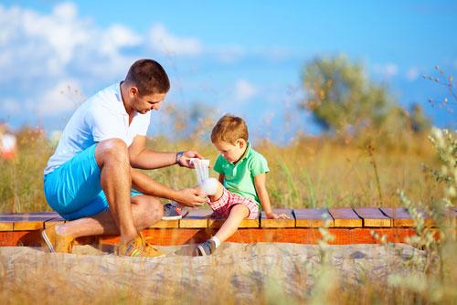 Первая помощь ребенку при несчастном случае