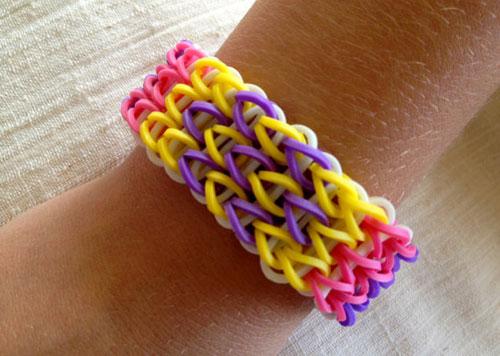 набора для плетения из резинок Rainbow Loom