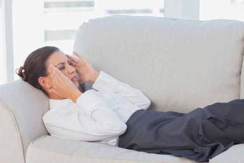 Снимаем головную боль при помощи массажа