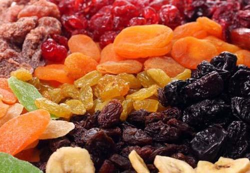 Сухофрукты для пользы нашего здоровья