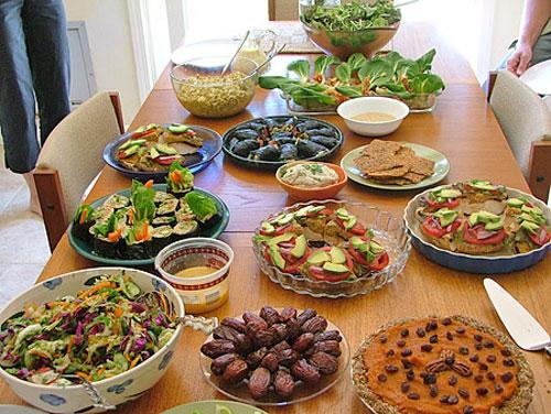 Сыроедная диета для здоровья