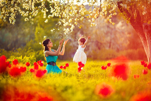 Основы поведения для укрепления связи с ребенком