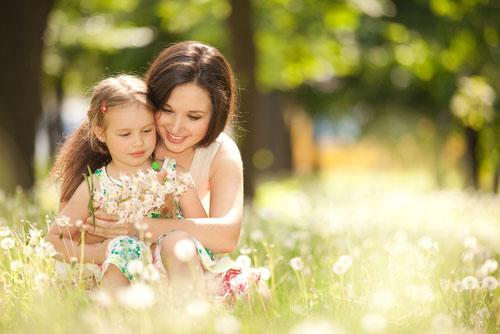 укрепления связи с ребенком