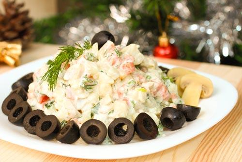 Вегетарианское новогоднее меню