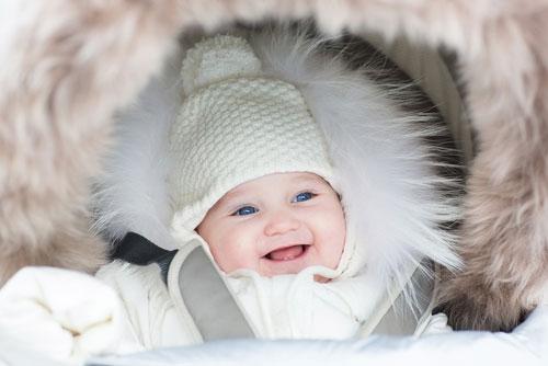 Зимние прогулки с малышом