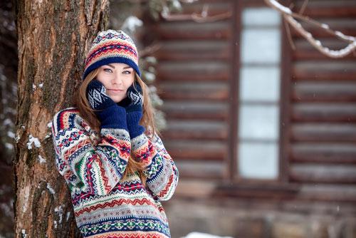 Быть красивой зимой