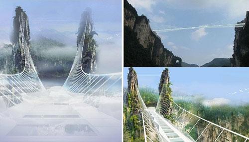 Дорога в облаках или самый длинный в мире стеклянный мост
