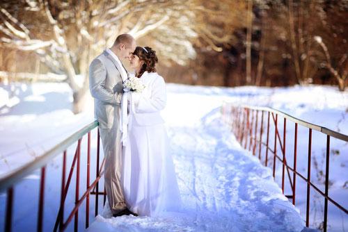 Вариант второй. Свадьба зимой.