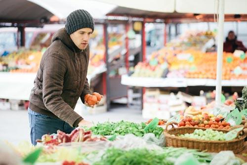 Полезные продукты в зимний период