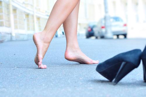 Соответствие стопы размеру обуви