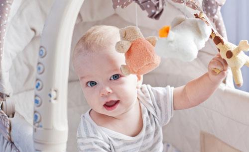 Успешное развитие малыша в нужное время