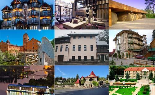 10 самых необычных отелей Украины (20 фото)