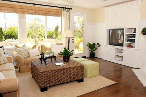 7 советов обустройства гостиной комнаты