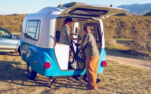 Такой фургончик мечта любого, кто любит путешествовать