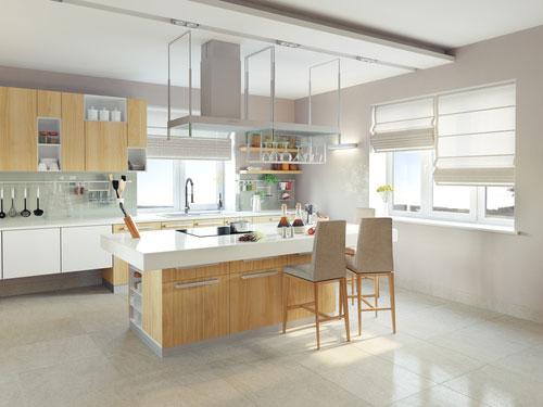 Кухонный стул как элемент декора