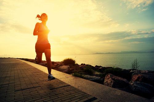 питание и утренняя пробежка