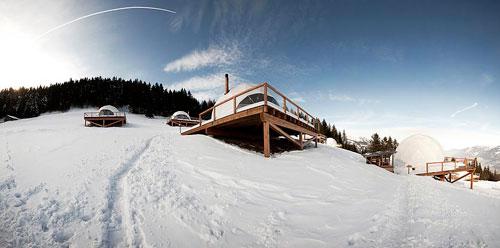 Эко-отель класса люкс в Швейцарии