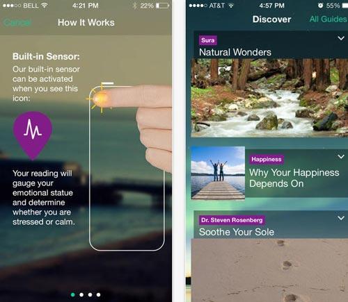 Мобильные приложения для медитации и релаксации