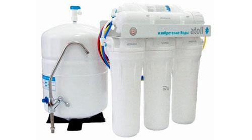 Чистая вода - принцип работы системы обратного осмоса