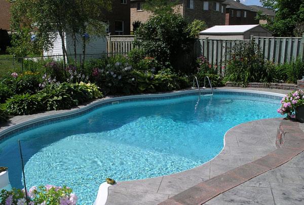 Советы по установке бассейна на даче