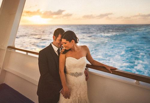 Свадьба на морском круизном лайнере
