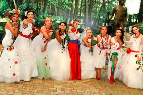 Свадебные платья вышиванки. Символы и виды