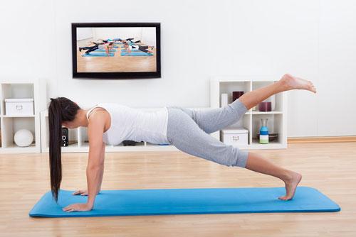 Эффективное и дешевое похудение: занятия фитнесом дома