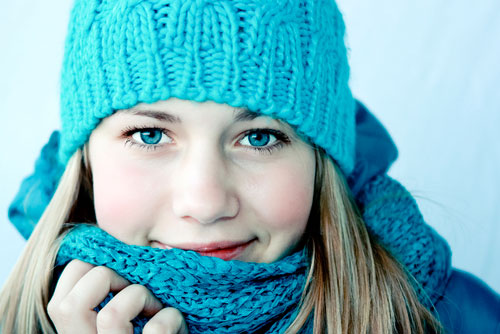 Зимняя красавица