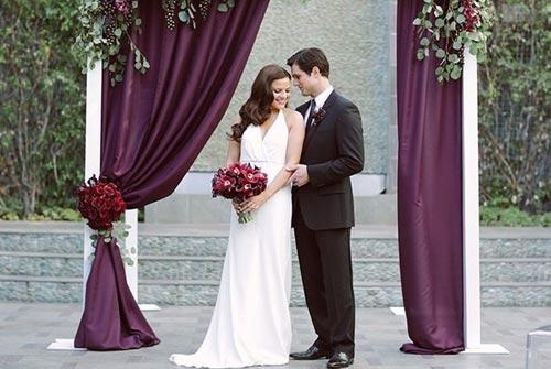 Белый цвет свадебного платья