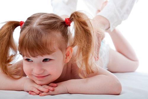 Детский массаж и основы его проведения