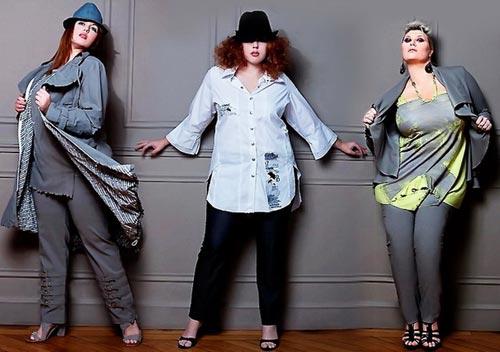 Выбор гардероба для женщин с пышными формами