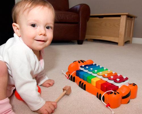 Игры и занятия годовалого ребенка