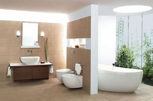 Какой может быть ванная комната (фото)