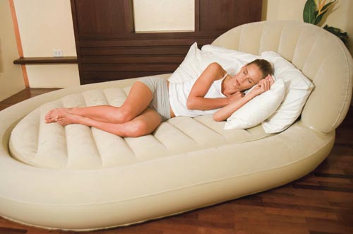 Современные конструкции надувных кроватей