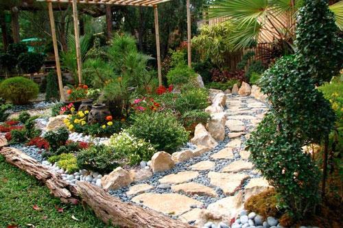 Ландшафтный дизайн сада в китайском стиле: основные идеи сада
