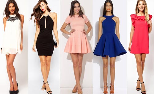 Платья мини всегда в моде